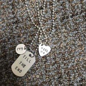 Jewelry - Couples Necklace Set